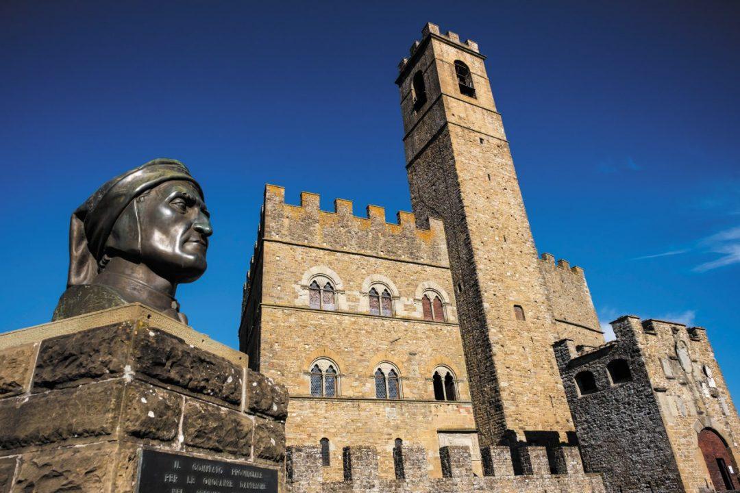 Dante e il castello di Poppi