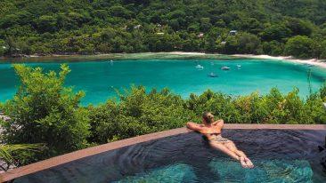 seychelles in barca foto dalle isole da sogno