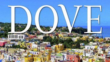 La cover della rivista dove marzo 2021 è dedicata all'isola di Procida