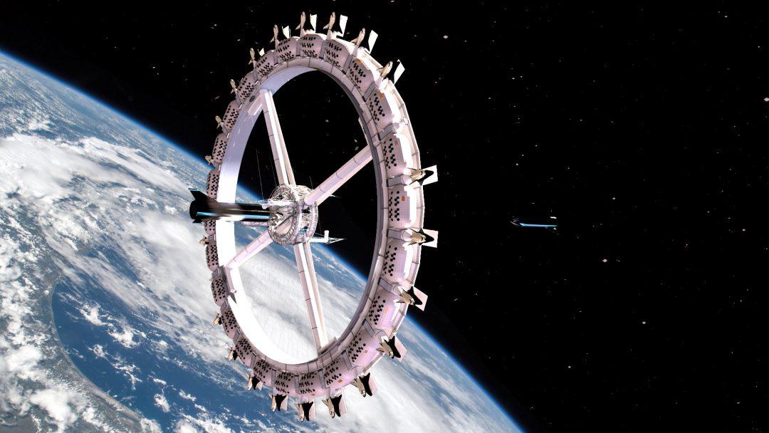 Il primo hotel spaziale che orbita intorno alla Terra sarà costruito nel 2025