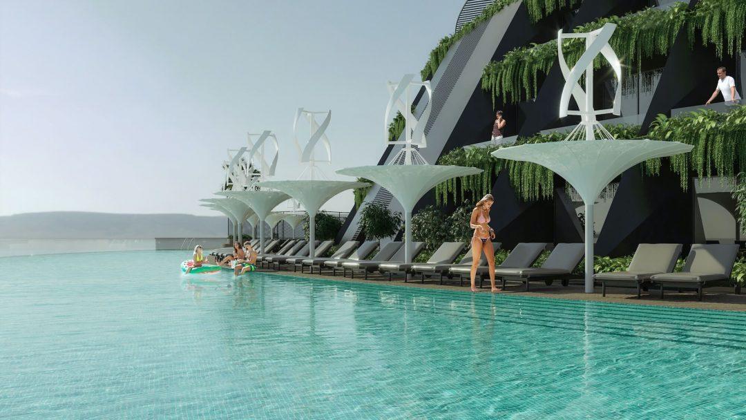 Hotel galleggiante in Qatar