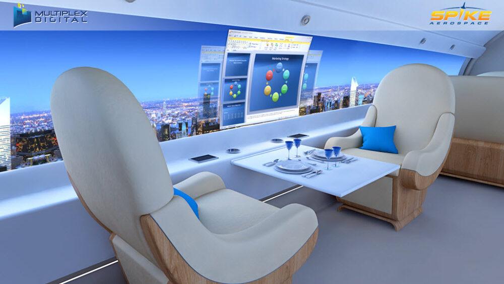 Spike Aerospace S-512 Supersonic Business Jet è il nuovo