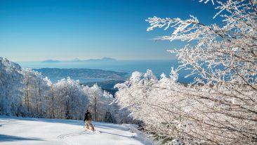 sciare in Aspromonte