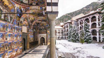 Monastero di Rila in Bulgaria