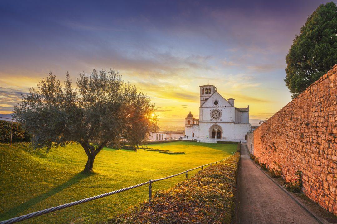 Meraviglie d'Italia Assisi Basilica San Francesco