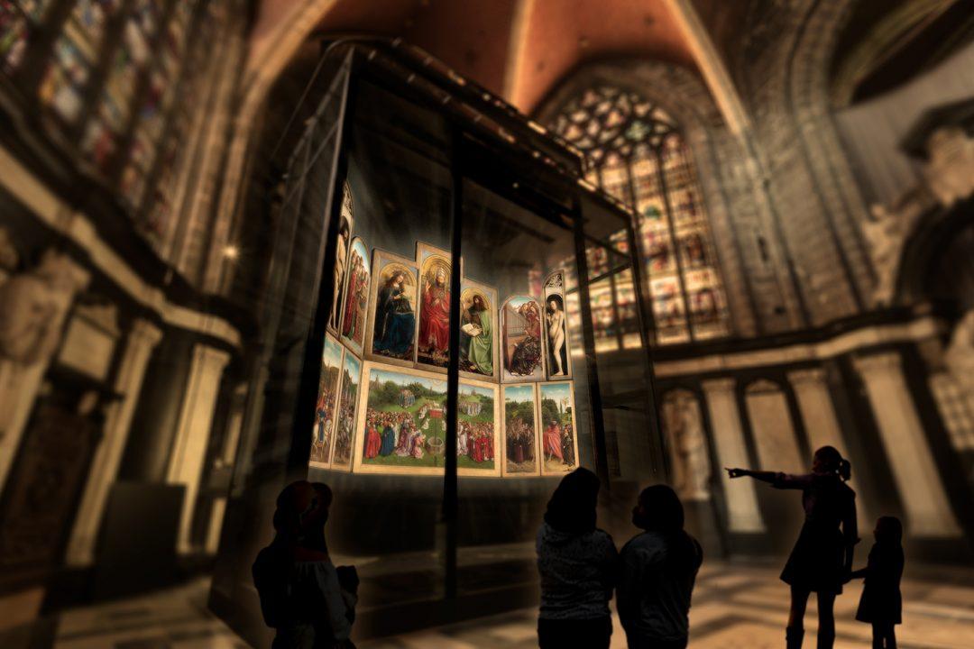 Cattedrale di San Bavone Gent Polittico Agnello Mistico