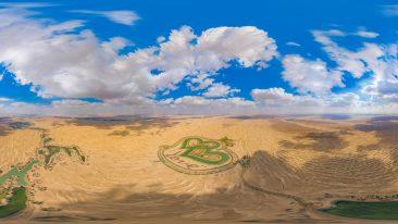 Dubai i laghi a forma di cuore