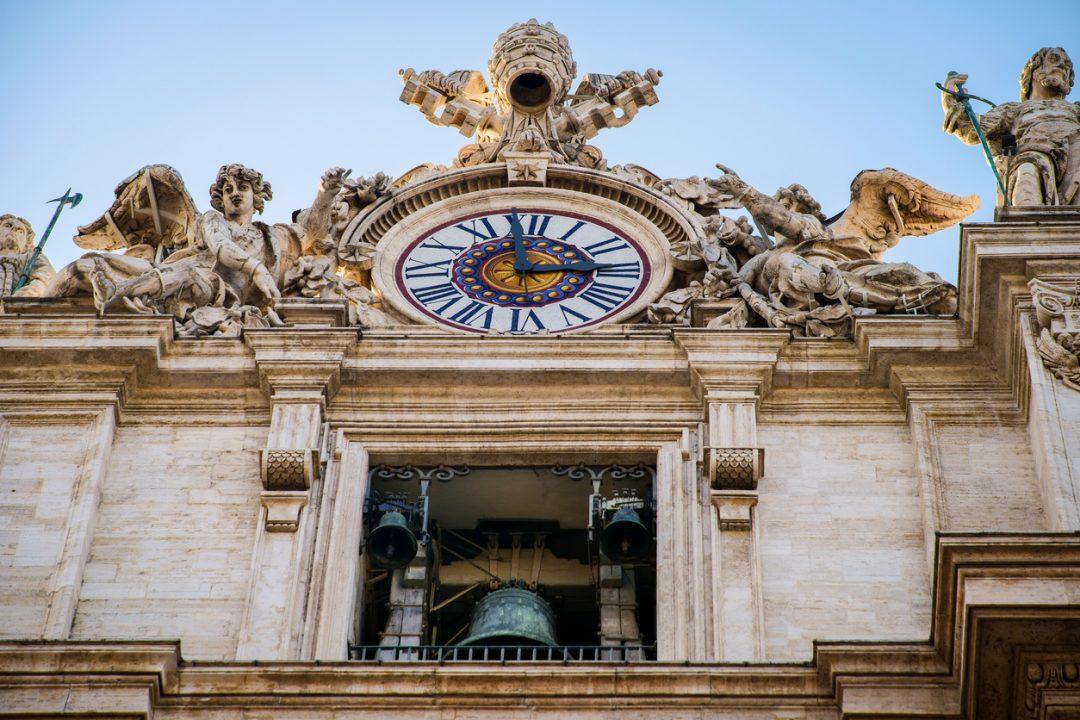 Orologio San Pietro Roma