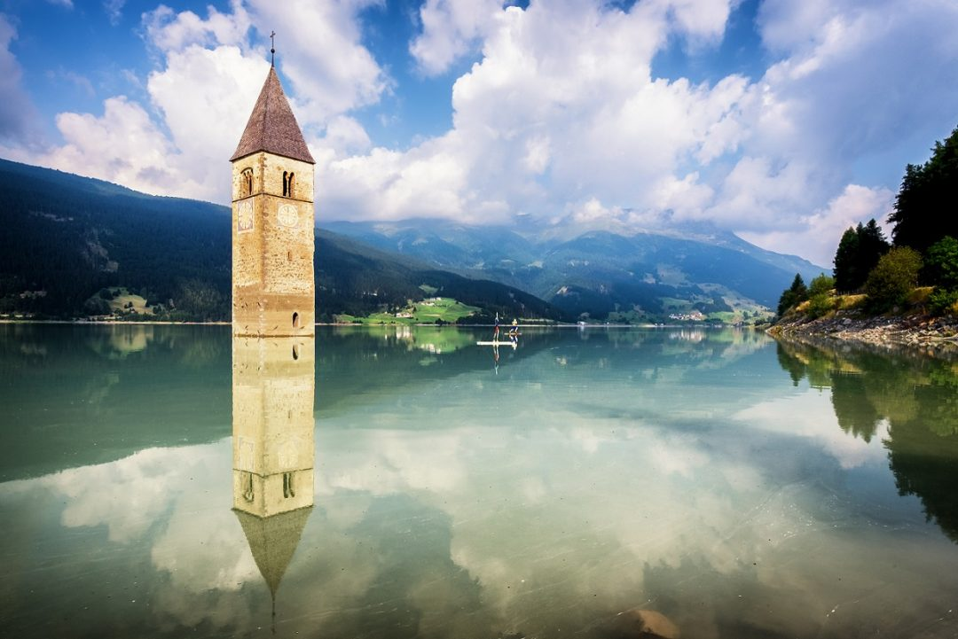 Campanile Lago di Resia, Bolzano