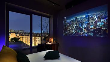 Hotel Paradiso Parigi - primo albergo tutto dedicato al cinema