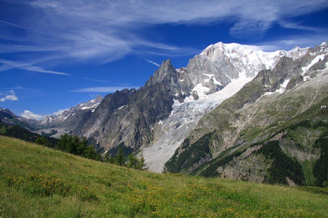 Il Monte Bianco  Aosta