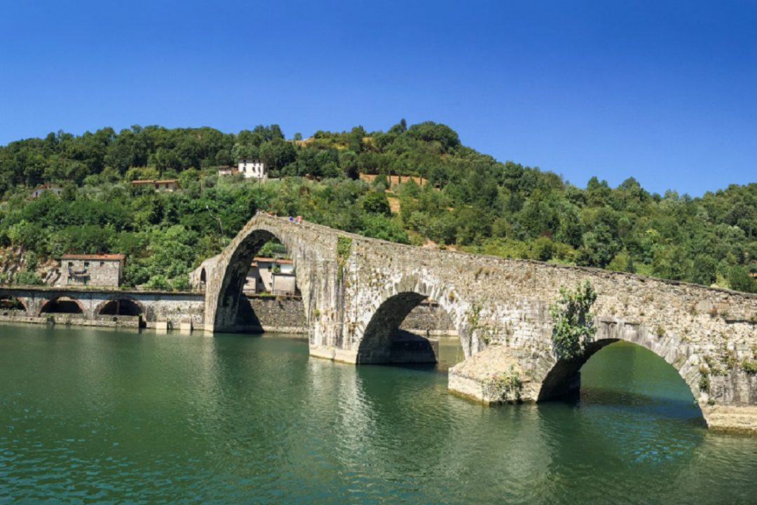 Ponte della Maddalena, Borgo a Mozzano, Lucca