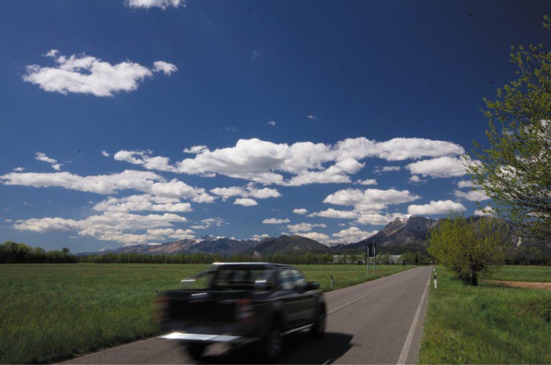On the road in Friuli Venezia Giulia