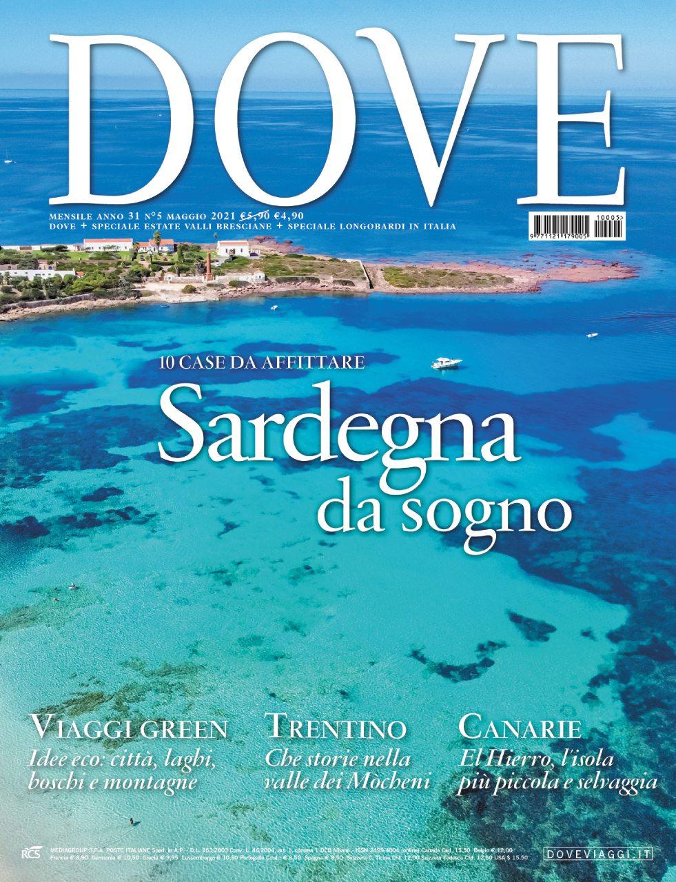 cover rivista dove maggio 2021