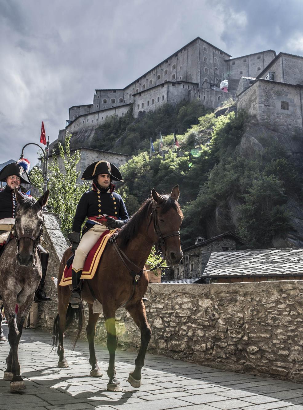 Napoleonica al Forte di Bard, Valled'Aosta