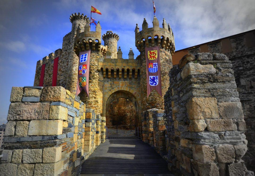 Castello dei Templari, Ponferrada, Castiglia e León