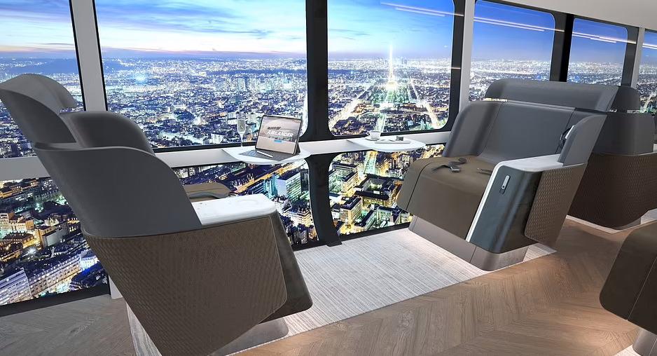 L'Airlander 10 è pronto a decollare: ecco il lussuoso (ed ecologico) dirigibile che collegherà le città