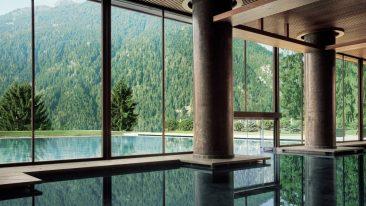 10 esperienze green_ piscina Lefay Resort Dolomiti Pinzolo
