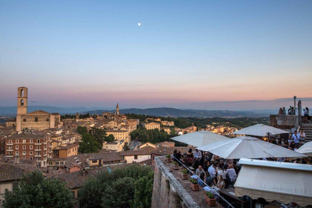 Aperitivo al Punto di Vista di Perugia