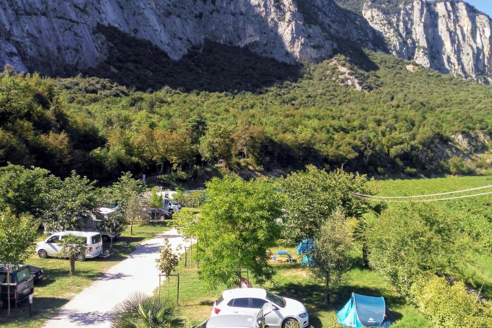 Campeggio Parete Zebrata, Dro (TN)