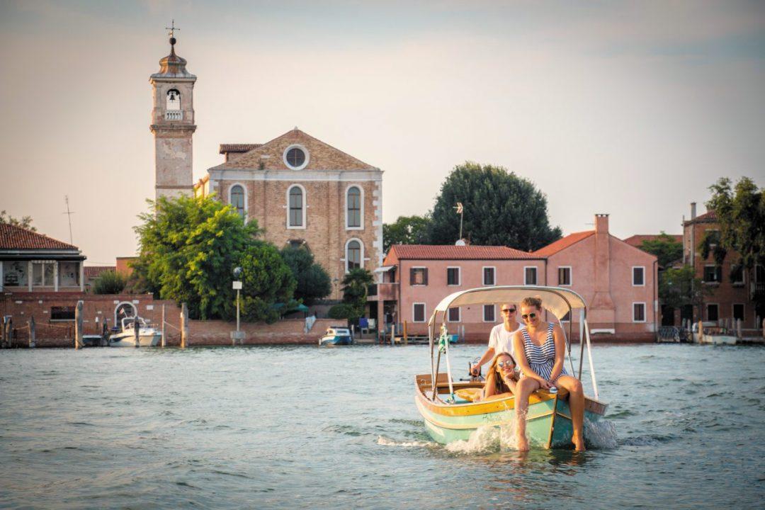 Capitani di laguna a Venezia (senza inquinare)