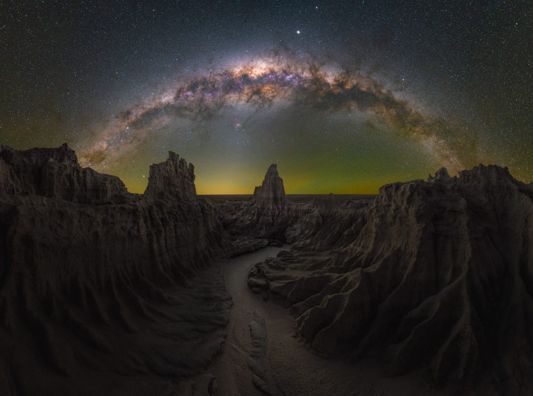 Milky Way photographer of the year: le affascinanti immagini della Via Lattea nel cielo notturno
