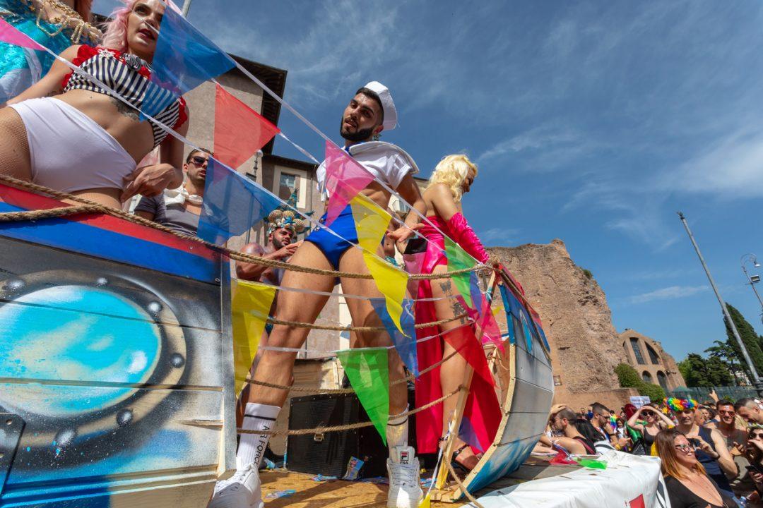 La prima parata del Gay Pride in Italia