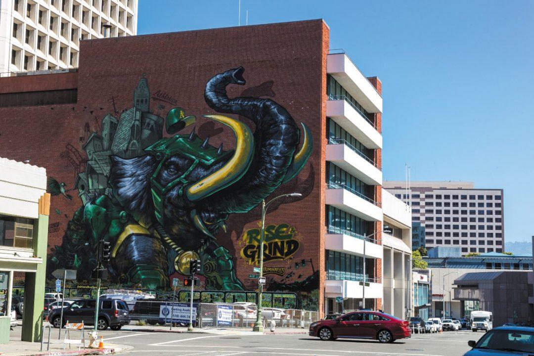 cosa vedere a Oakland: i graffiti e la street art