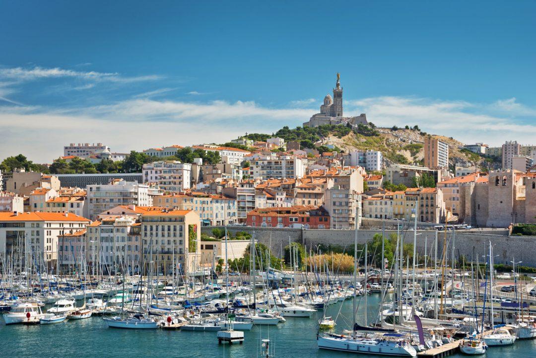 Le Vieux Port di Marsiglia, Francia