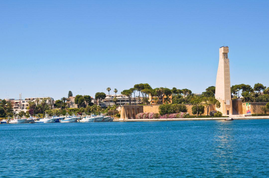 Il porto di Brindisi, Puglia