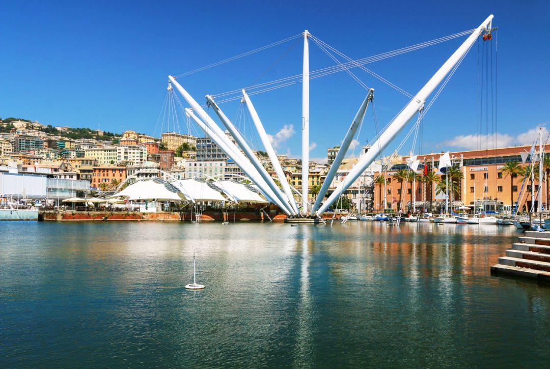 Il porto di Genova, Liguria