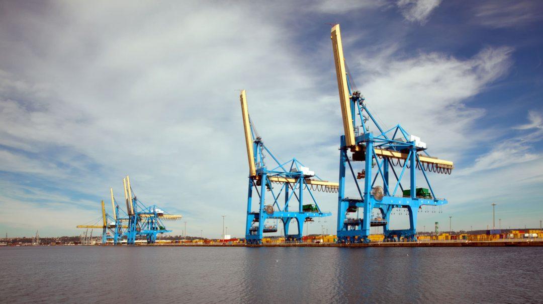 Porto di Le Havre, Francia