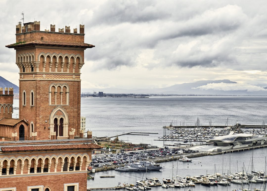 Il porto di Salerno, Campania