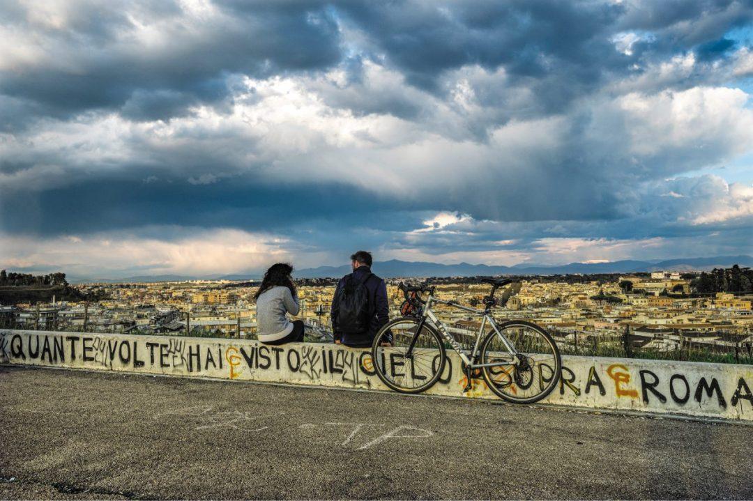 Roma città green: pedalare tra i colli