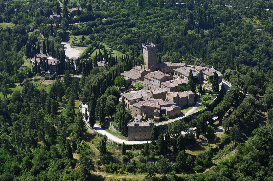 Castello di Gargonza, Monte San Savino (Toscana)
