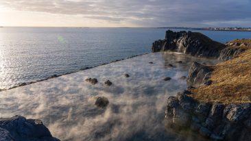 Sky Lagoon in Islanda