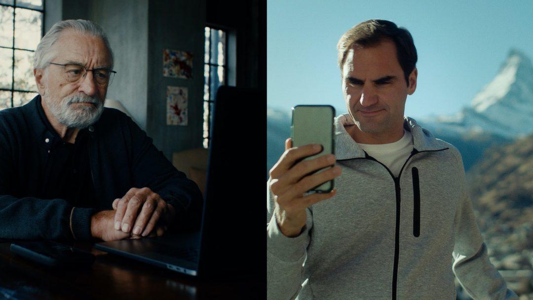 De Niro e Federer per Svizzera Turismo