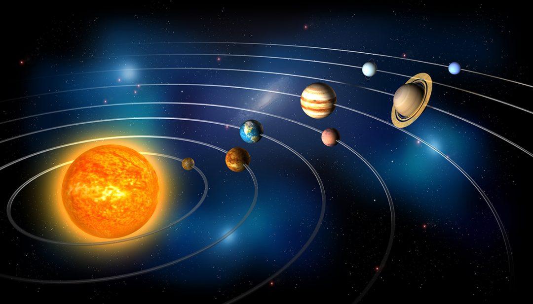 La distanza dei pianeti dal sole