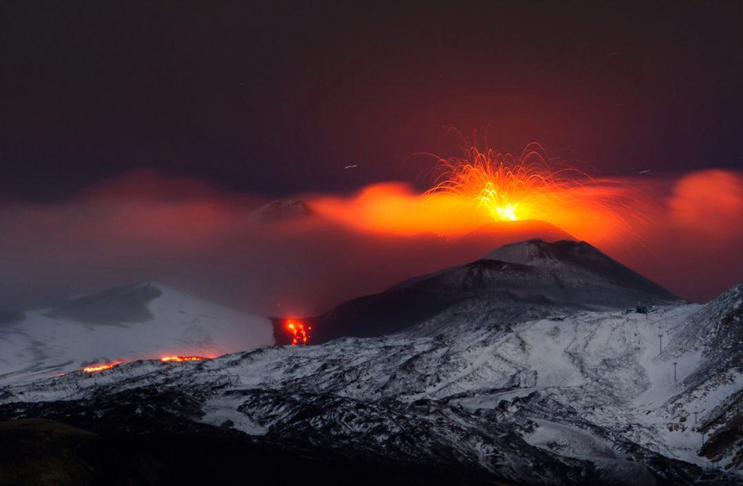 Vulcani attivi in Italia: Etna