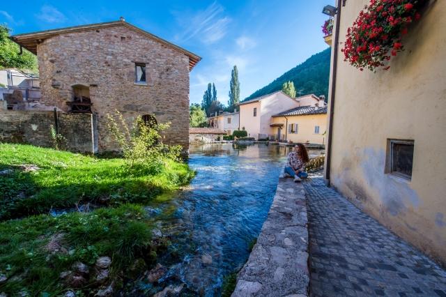 Rasiglia, il borgo delle mille sorgenti