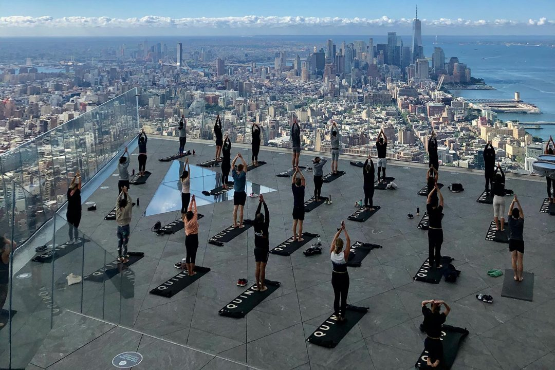Yoga a New York