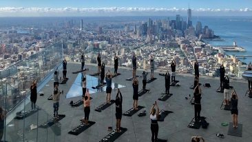 Yoga a New York