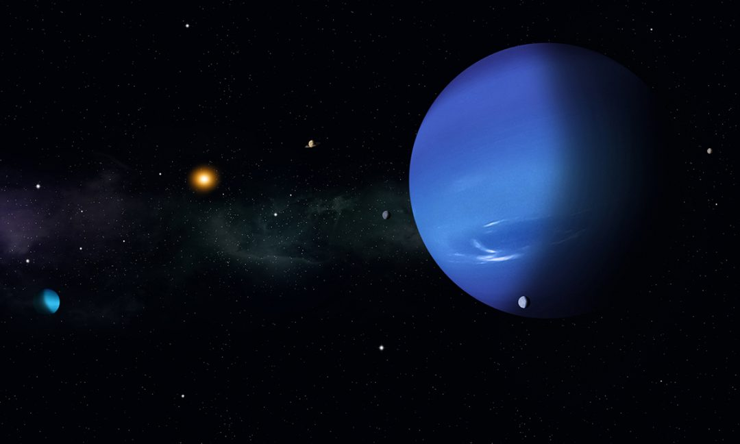 Nettuno, il pianeta più lontano dal Sole