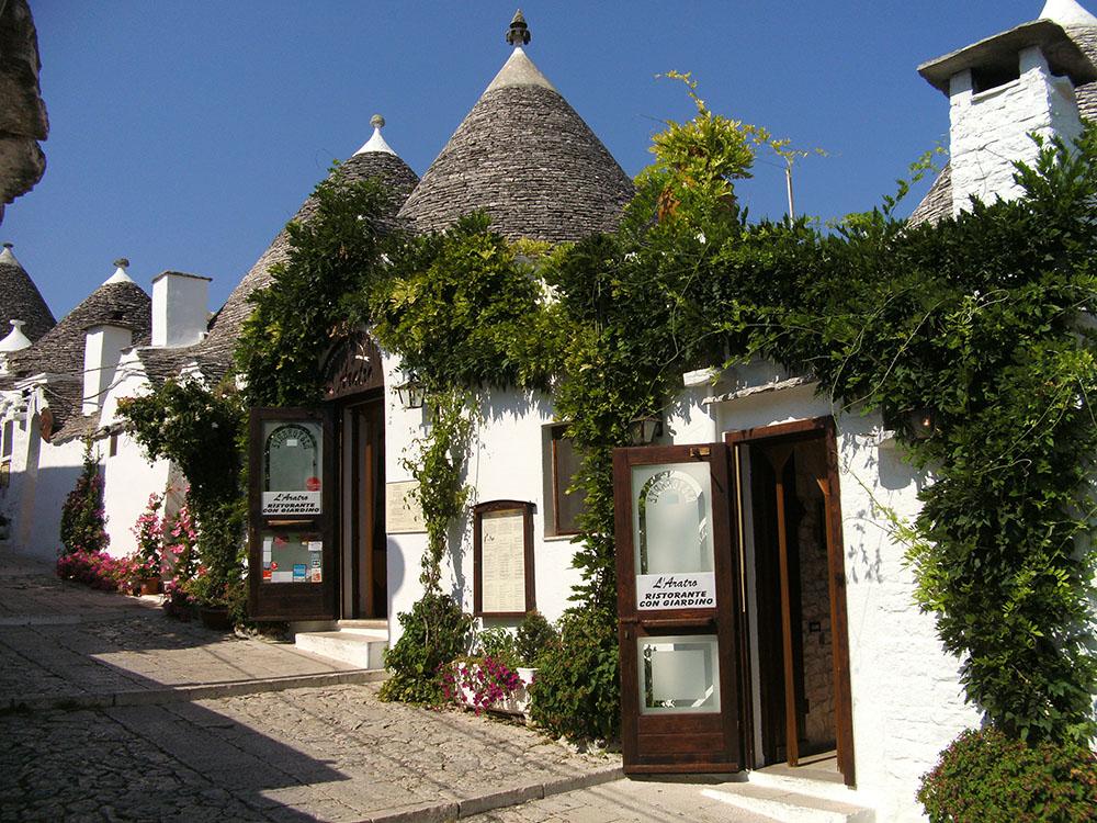 Dove mangiare e dormire ad Alberobello