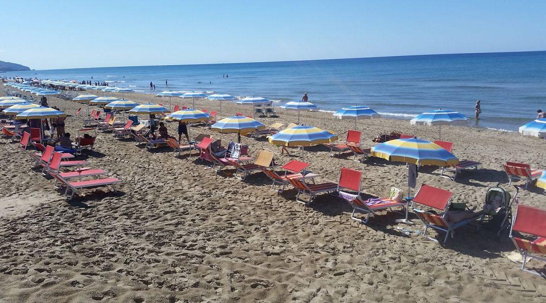spiaggia di Capratica Fondi Lazio