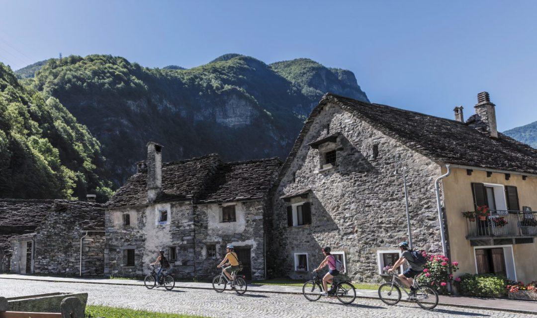 itinerario dal Canton Ticino al Vallese