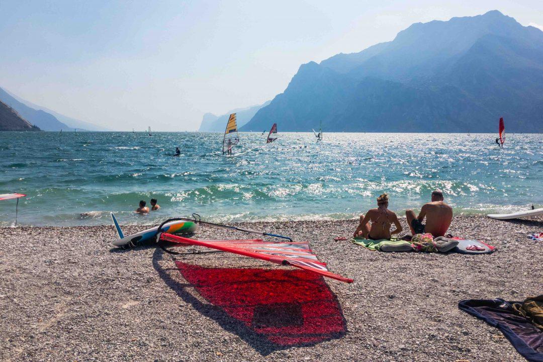 Spiaggia di Colonia Pavese, Torbole (Tn) - Trentino