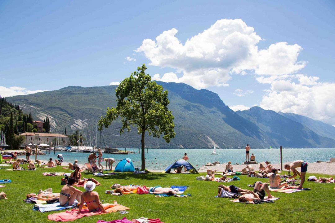 Spiaggia dei Pini, Riva del Garda (Tn) - Trentino