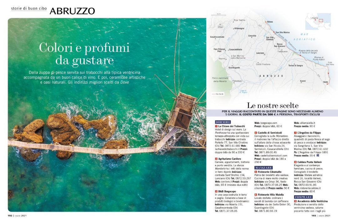 Storie di buon cibo: Abruzzo