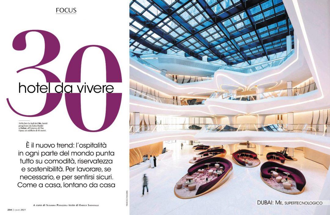 Focus: 30 hotel da vivere